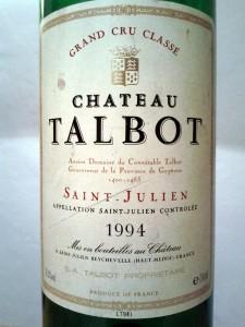 Château Talbot, 1994