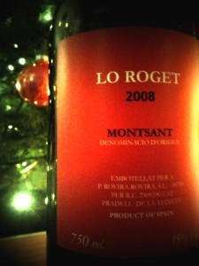 Lo Roget, DO Montsant, 2008