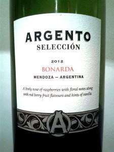 Argento Seleccion Bonarda 2012