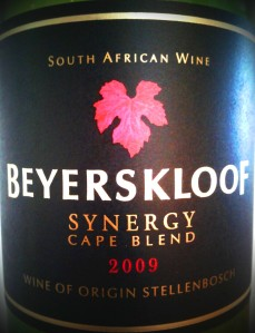 Beyerskloof Synergy Cape Blend 2009