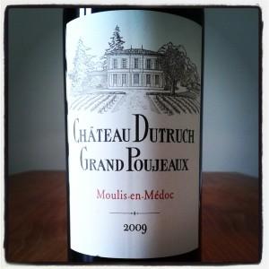 Chateau Dutruch Grand Poujeaux Moulis-en-Medoc 2009