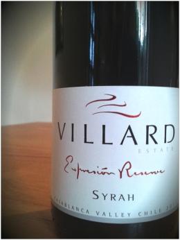 Villard Expresion Syrah 2011