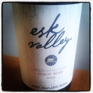 Esk Valley Marlborough Pinot Noir 2010